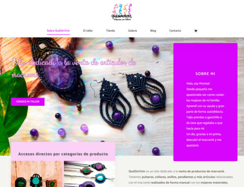 ¡Nueva web de QuéSinVivir!